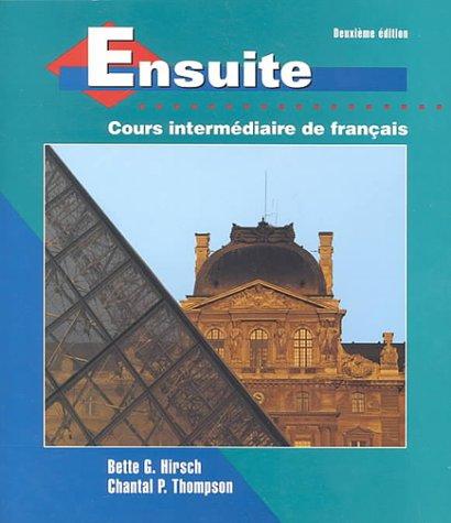 9780070290952: Ensuite: Cours Intermediaire De Francais