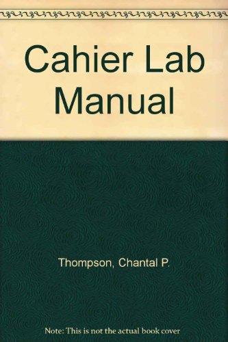 9780070290976: Cahier Lab Manual