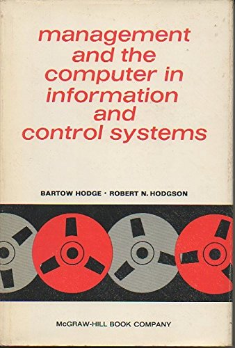 Management & the Computer in Information &: Hodge, Bartow &