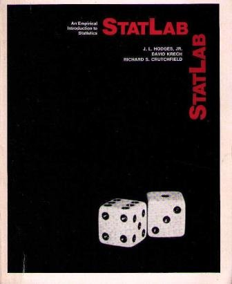 9780070291348: Statlab: An Empirical Introduction to Statistics (McGraw-Hill series in probability and statistics)