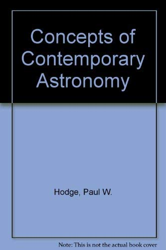 9780070291478: Concepts of Contemporary Astronomy