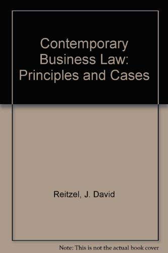 9780070291690: Contemporary Business Law: Principles and Cases