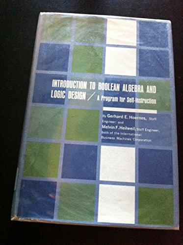 9780070291850: Introduction to Boolean Algebra and Logic Design
