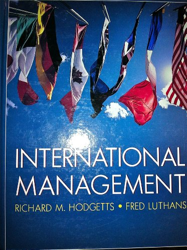 9780070292000: International Management (Mcgraw-Hill Series in Management)