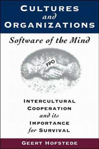 9780070293076: Cultures and Organisations: Software of the Mind - Intercultural Cooperation and Its Importance for Survival