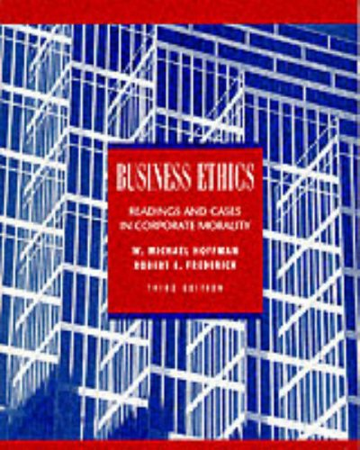 9780070293496: Business Ethics: Readings and Cases in Corporate Morality