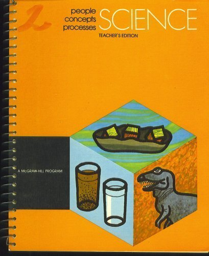 9780070295124: Science, Teacher's Guide, Level 2, People, Concepts, Processes (A McGraw-Hill Program)