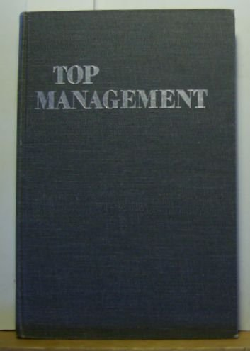 9780070295452: Top Management Organization and Control