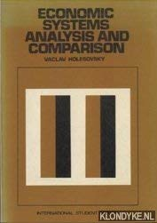 9780070295575: Economic Systems: Analysis and Comparison
