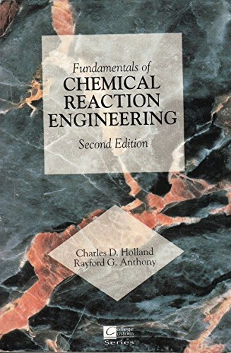 9780070295711: Fundamentals of Chemical Reaction Engineering (Second Edition)