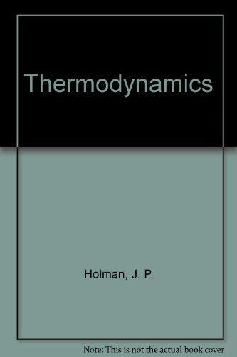 Thermodynamics: holman, j