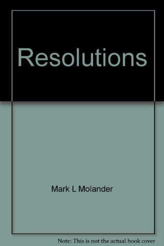 9780070295971: Resolutions: Practice in logic & syntax for writers (College custom series)