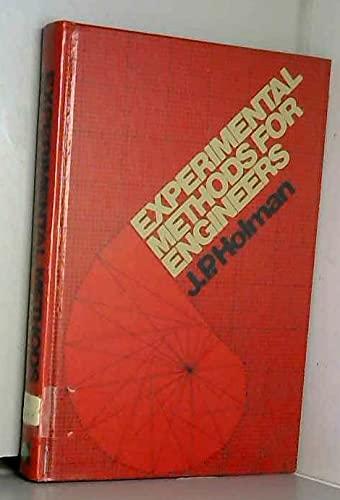 9780070296015: Experimental methods for engineers