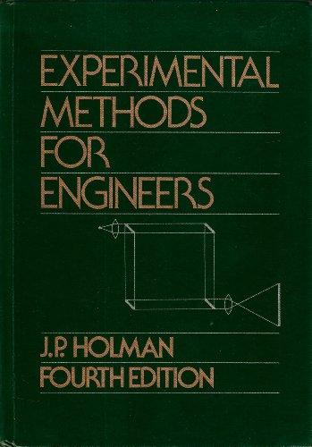 9780070296138: Experimental Methods for Engineers