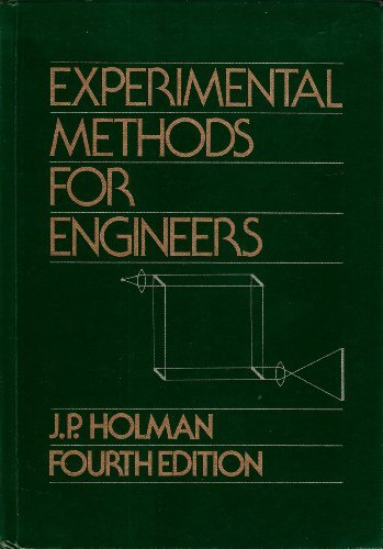 9780070296138: Experimental Methods for Engineers