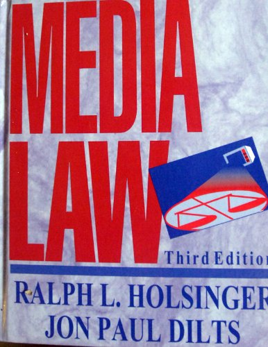 9780070296732: Media Law (Mcgraw-Hill Series in Mass Communication)