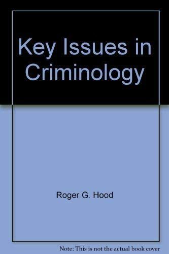 9780070297302: Key Issues in Criminology