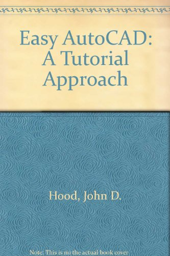 9780070297494: Easy AutoCAD: A Tutorial Approach