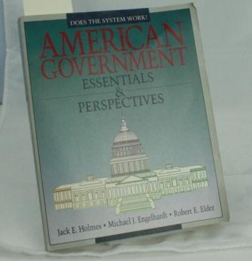 9780070297678: American Government: Essentials & Perspectives