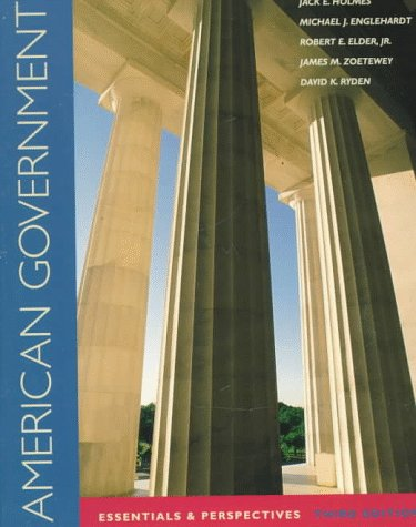 9780070297708: American Government: Essentials and Perspectives