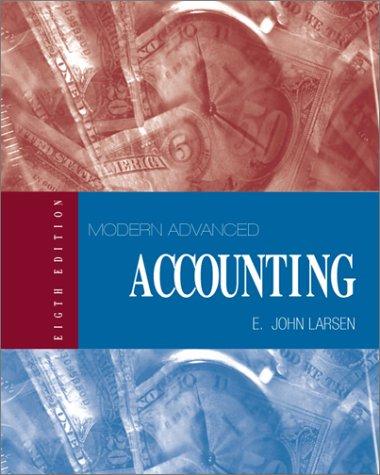 9780070299917: Modern Advanced Accounting