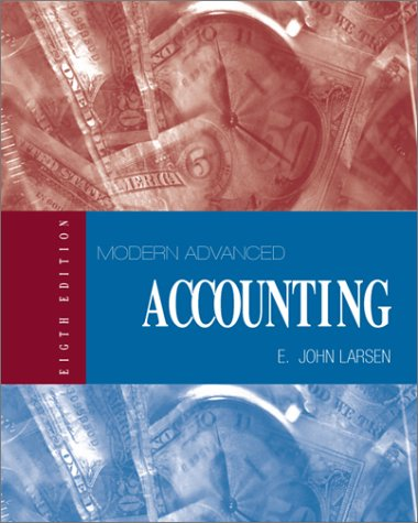 9780070299917: Modern Advanced Accounting