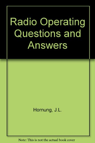 9780070303515: Radio Operating Questions and Answers