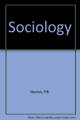 9780070304321: Sociology