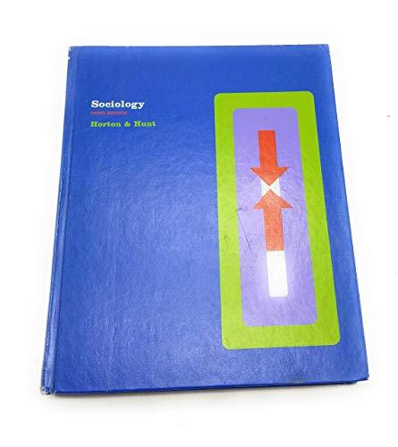 Sociology: Paul B. Horton,