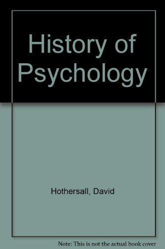 9780070305090: History of Psychology