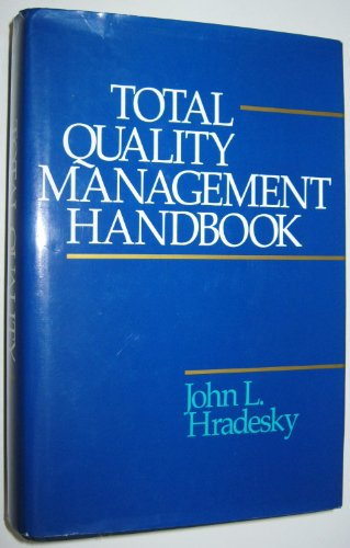 9780070305113: Total Quality Management Handbook