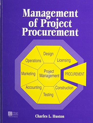 9780070305526: Management of Project Procurement