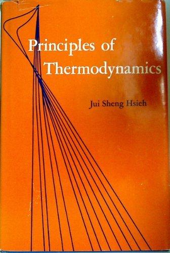 Principles of Thermodynamics: Hsieh, Jui Sheng