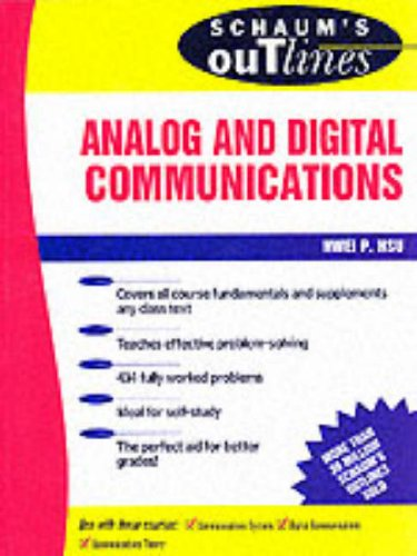 9780070306363: Schaum's Outline of Theory and Problems of Analog and Digital Communication (Schaum's Outline Series)