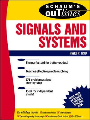 9780070306417: Schaum's Outline of Signals and Systems