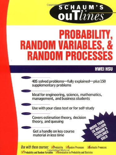 9780070306448: Schaum's Outline of Probability, Random Variables, and Random Processes (Schaum's Outline Series)