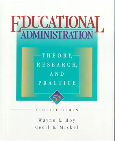 Research topics in educational administration pdf