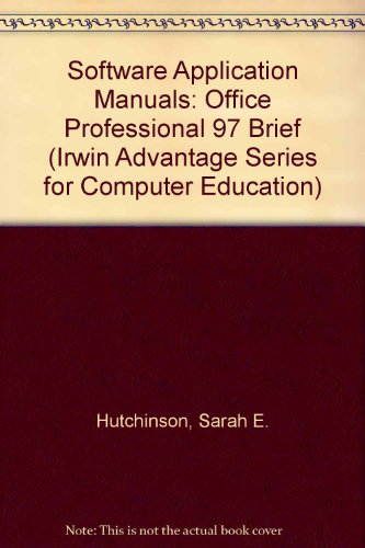 9780070306677: Advantage Series: Microsoft Office 97 Brief Edition