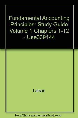 9780070307353: Study Guide  Ch 1-12