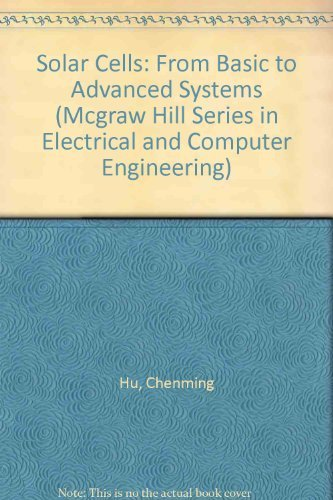 9780070307452: Solar Cells: From Basic to Advanced Systems (Mcgraw Hill Series in Electrical and Computer Engineering)