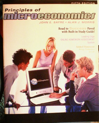 9780070308107: Principles of Microeconomics
