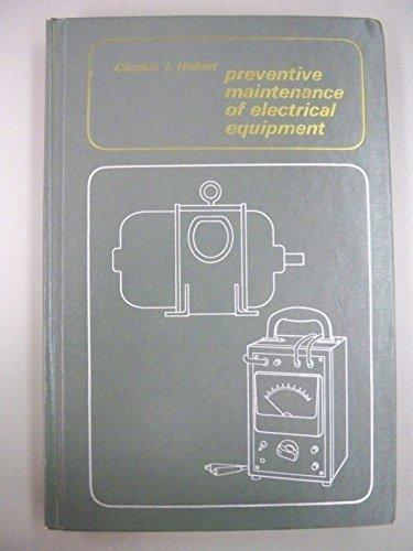 9780070308398: Preventive Maintenance of Electrical Equipment