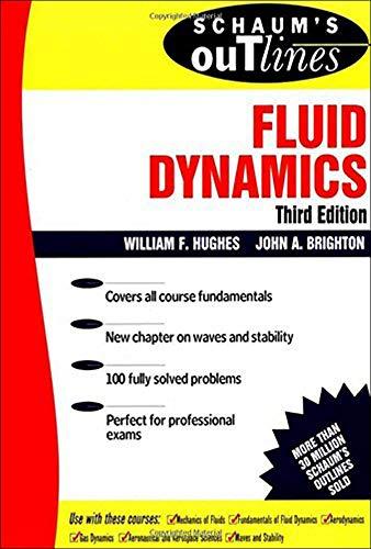 9780070311183: Schaum's Outline of Fluid Dynamics (Schaum's)