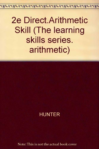 9780070313248: 2e Direct.Arithmetic Skill (The learning skills series. arithmetic)