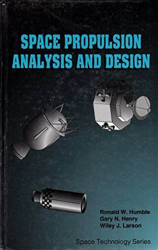 9780070313293: Space Propulsion Analysis and Design
