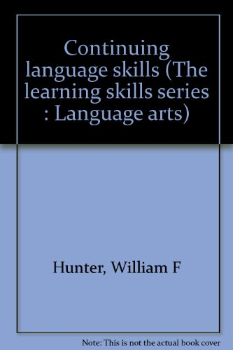 9780070313330: Continuing language skills (The learning skills series : Language arts)