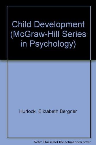 9780070314276: Child Development (McGraw-Hill series in psychology)