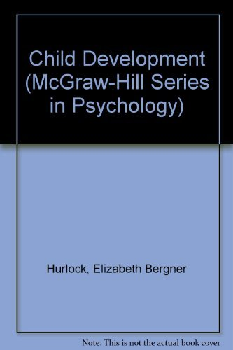 9780070314276: Child Development (McGraw-Hill series in psychology)