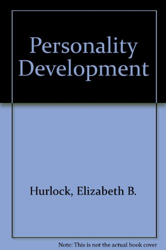9780070314474: Personality development