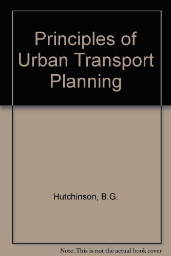 9780070315396: Principles of Urban Transport Systems Planning